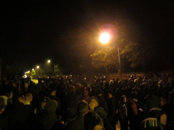 Wolgast Blockade in der Chausseestraße