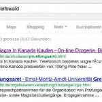 Prüfungsamt der Uni Greifswald Opfer von Spam?