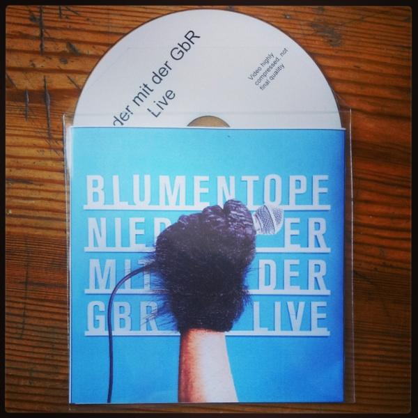 Blumentopf - Nieder mit der GbR Live DVD