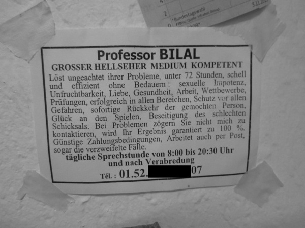 Professor Bilal