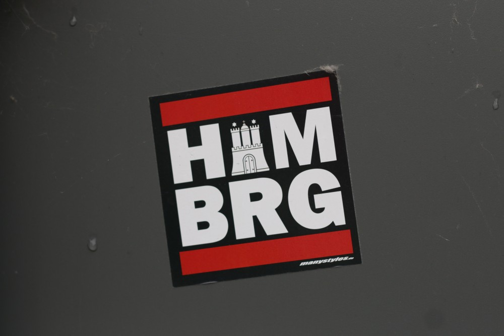 Hamburg-Sticker