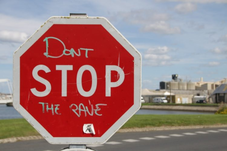 Don't stop the rave