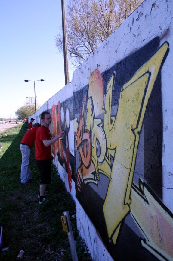 Erste Bilder vom Graffiti-Samstag - Update